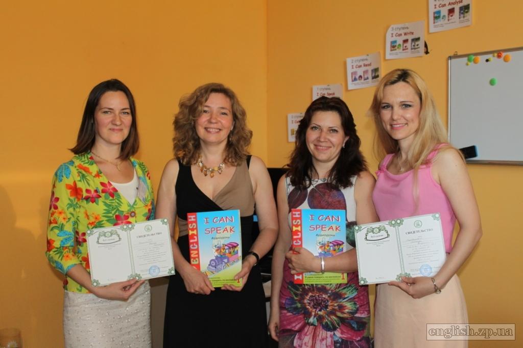 обучение английскому детей - тренинг в Украине